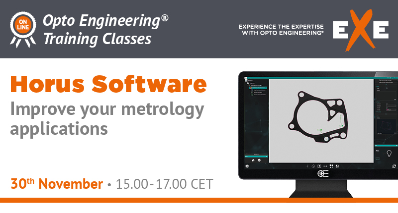 Horus Software - Improve your metrology applications