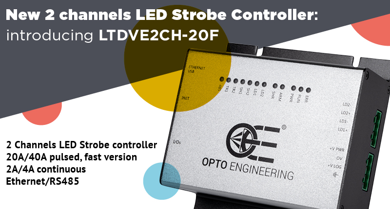 Opto Engineering® all-new high performance LED Strobe controller