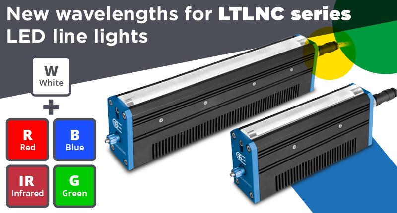 New wavelengths for LTLNC series LED Line Lights