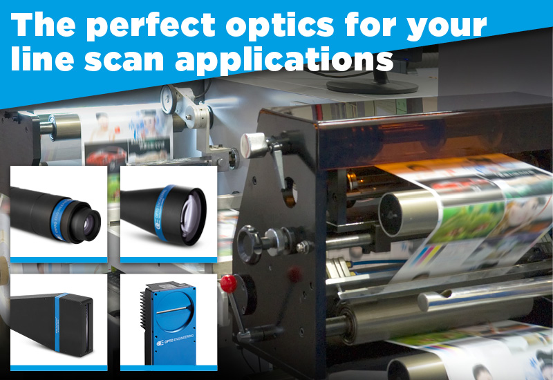 The perfect optics for your line scan applications