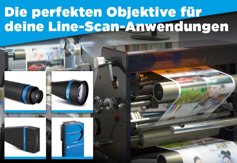 Die perfekten Objektive für deine Line-Scan-Anwendungen