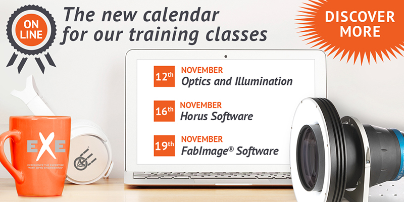 EXE Training classes - Now online the new calendar
