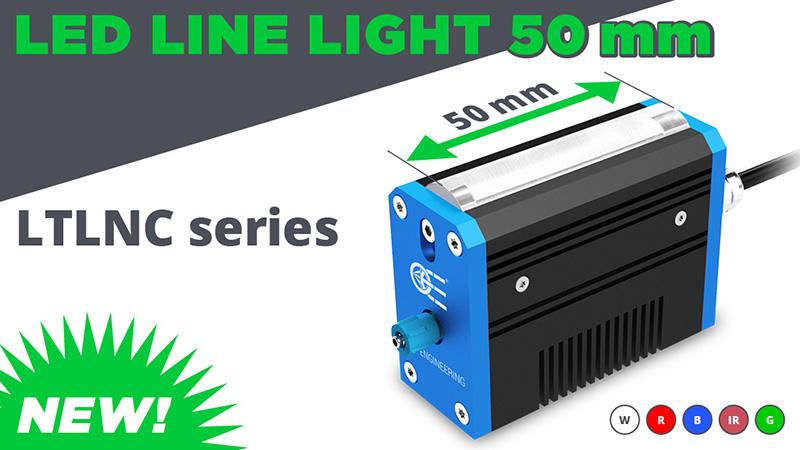 New: Led Line light 50 mm – LTNC series