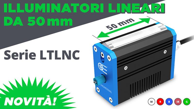 Novità: illuminatori lineari da 50 mm – serie LTLNC
