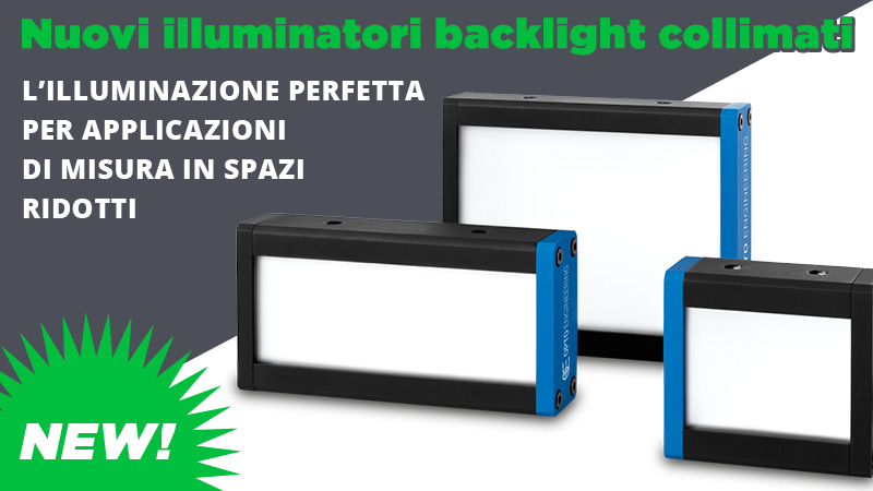 Nuovi illuminatori backlight collimati