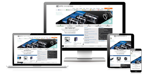 You're invited to join our webinar dedicated to  the new Opto Engineering® website.